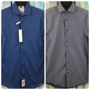 Calvin Klein Reversible Slim Fit Dress Shirt